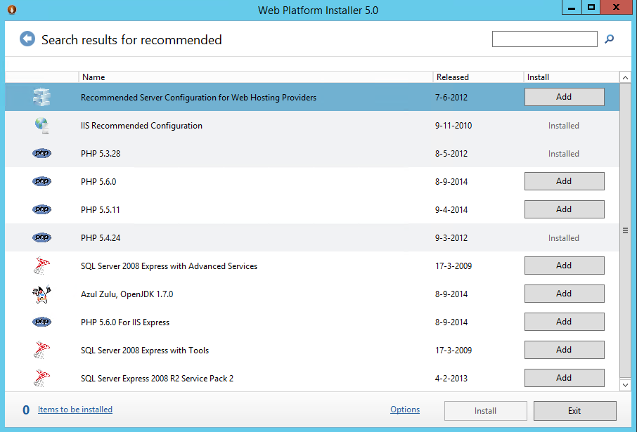 Enabling Web Deploy on your windows Server